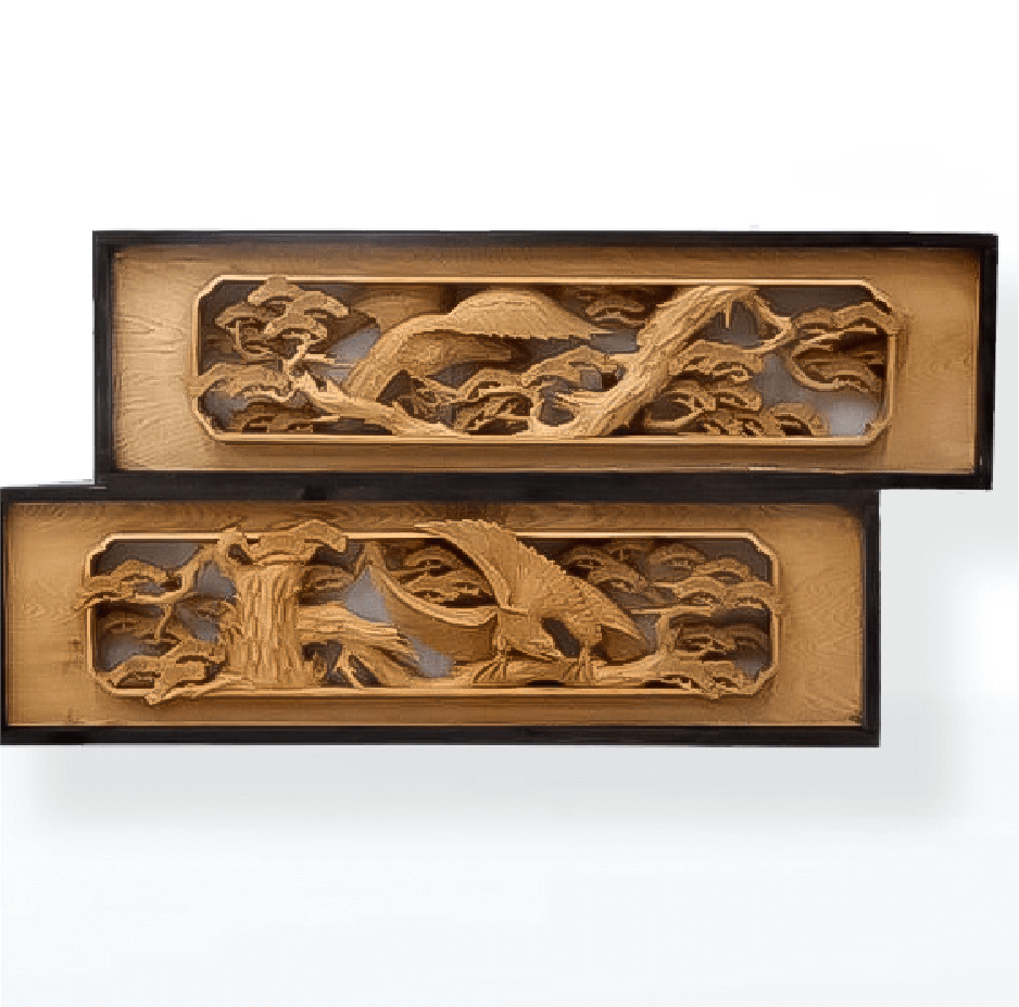富山県 井波彫刻 欄間