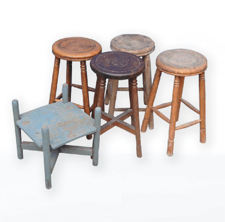 昭和初期~中期 丸椅子