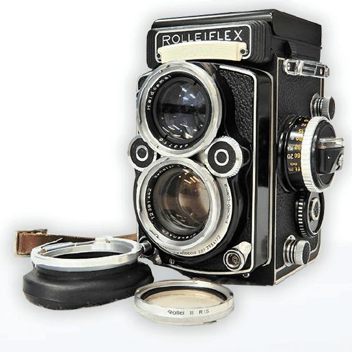 ローライフレックスカメラ